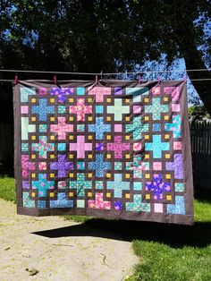 The Violet Quilt - A New Pattern | Kitchen Table Quilting Twin Quilt Pattern, Twin Quilt Size, Pattern Paper, Pdf Patterns, Quilt Patterns, Quilting Projects, Sewing Projects, Purple Quilts, The Violet