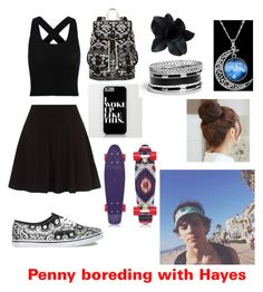 """""""Penny boreding with Hayes"""" by wishbone1243 on Polyvore"""