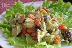 Healthy Pesto and Chicken Salad