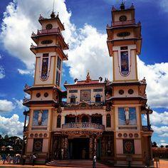 Tòa Thánh Cao Đài in Tây Ninh, Tay Ninh Province