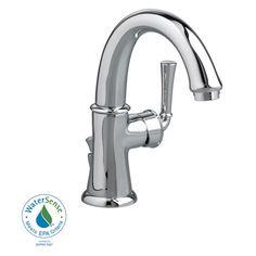 American Standard 7420101.002 Portsmouth Swivel Monoblock Bathroom Faucet - Chrome