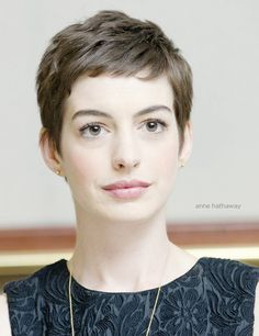 Ann Hathaway's fab version of her pixie