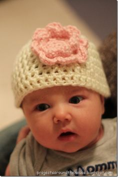 Easy Crochet Newborn Hat Pattern