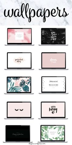 Yay! New wallpapers on my blog. Go check it out