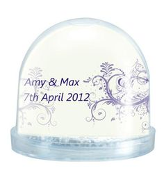 snow globes | Snow Globe | Products | Little Wedding Ideas