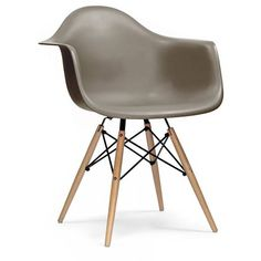 Ciel Chair, Eames Style Wood Base Chair (¥13,720) ❤ liked on Polyvore featuring home, furniture, chairs, accent chairs, ciel, black armchair, black accent chair, black arm chair and black furniture