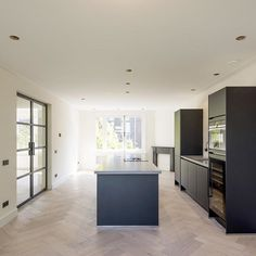 Large Group Meals, Kitchen Drawers, Surface Area, Kitchen Interior, Home Kitchens, Kitchen Island, Cool Designs, New Homes, Flooring
