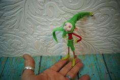 OOAK art doll  ... pissed off pixie fairy by Dinkydarlings