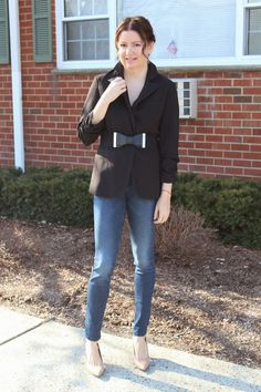 Yaudy's Style: A Blazer and a Bow