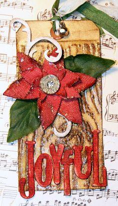Christmas Tag...2010 Tim Tag by Nancy Burke