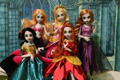 https://flic.kr/p/DAwLHU | Once Upon a Zombie Group | Beautiful zombies.   From WowWee toys and released in 2012.
