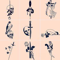 "724 Likes, 22 Comments - THORN WALKER (@thornwalker) on Instagram: ""#minimalism #minimalist #tattoo #tattoos #thornwalker #losangeles #la #highfashion #fashion #black…"""