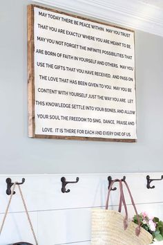 Easy DIY Quote Sign, DIY Quote Sign, Wood Framed Quote Sign, DIY wood framed quote sign, how to make a diy quote sign #quotesign #diyquotesign Make A Quote, Diy Quote, Framed Quotes, Sign Quotes, Make Your Own, Make It Yourself, Farmhouse Signs, Diy Wood, Letter Board