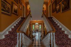 #artwork #reception #irishcastle #staircase #decor #decorgoals #history #kerry #ireland Artwork, Reception, Castle, Stairs, History, Home Decor, Work Of Art, Stairway, Historia
