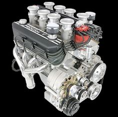 Roush With 8 Stack I Bet This Baby Makes Some Serious Power Engineering Shelby Car Car Engine