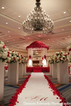 indian wedding ceremony mandap decor http://maharaniweddings.com/gallery/photo/6190