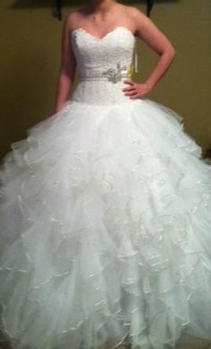 New With Tags Eve of Milady Wedding Dress 1458, Size 6  | Get a designer gown for (much!) less on PreOwnedWeddingDresses.com