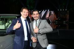 With Nick Rogers (Director Range Rover Programmes & Architectures)