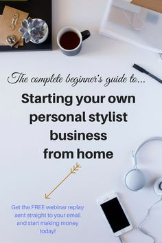 Want to start your own personal stylist business? It's easier than you think!