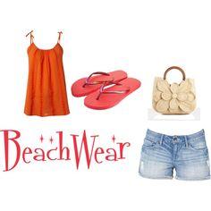 Beachware, created by twinklingstar88 on Polyvore