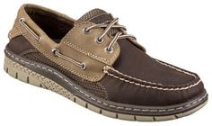 Sperry Billfish Ultralite 3-Eye Boat Shoes for Men - Brown/Taupe - 11M