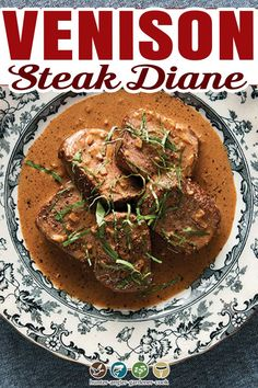 Steak Diane. What can I say? This dish was already passé when I first began going to restaurants as a boy in the 1970s; its heyday in America was in the 1950s and 1960s, when French cooking was all the rage. (Thanks, Julia!) Most people who remember this dish remember it as beef filet mignon with a zippy sauce of mustard, Worcestershire sauce, demi-glace, cream and shallots — all flambéed at the table with cognac. | @huntgathercook #howtocooksteakdiane #classicsteakrecipes #steakdiane