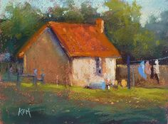 Painting My World: The Haunted Manor... Impressions of France part 4