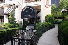 Maggiano's on West End Avenue - Nashville, TN has great Italian food.