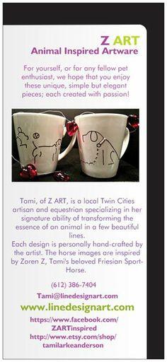 Back of Z ART brochure Line Design, Design Art, Z Arts, Beautiful Lines, Artisan, Design Inspiration, Hand Painted, Craftsman