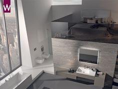 Badkamer In Slaapkamer : 34 beste afbeeldingen van badkamer in slaapkamer attic bedrooms