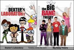 Dexter's Laboratory Totally Looks Like Big Bang Theory