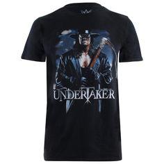 WWE Men's Undertaker Scythe T Shirt Black #WWE #Wrestling #Undertaker