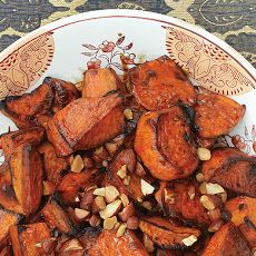 Sweet Potatoes with Bourbon and Maple Recipe