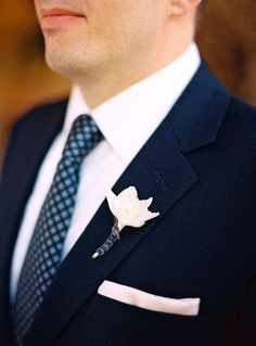 Navy Blue Wedding Inspiration from Facebook .... I could totally see him in blue :) , or grey, I like grey too