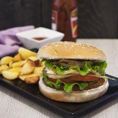 Veg Burger di ceci