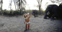 Young Girl Grew Up With African Wildlife | Lovelyish