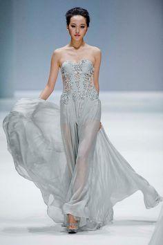 Zhang Jingjing Haute Couture Fashion Show, Beijing.