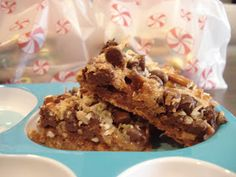 Dessert Now, Dinner Later!: Caramel Pretzel Magic Bars