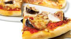 Pizza italienne au capicollo et aux figues