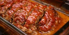 Classic Meatloaf With A Brown Sugar Twist