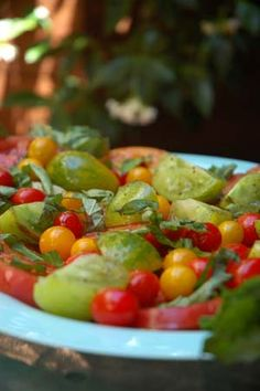 Heirloom Tomato Salad with Basil Recipe