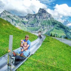 Spring is here and we can't wait to start hiking in the Mountains. Just a little bit of advice, for all you mountain lovers.... Watch out… Lake Thun, Alps Switzerland, Famous Waterfalls, Ferry Boat, Zermatt, Swiss Alps, Spring Is Here, Train Rides, Train Travel