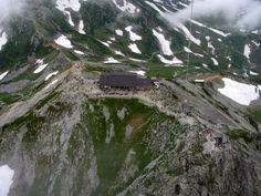 立山山頂上空からカイトフォト(Kite Aerial Photography)