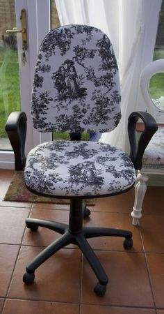 Bacon Time With The Hungry Hypo: Andrea's Easy Tutorial For Refurbishing A Swivel Office Chair