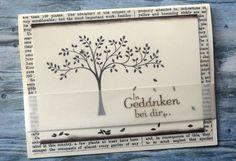 Gedenken Trauer Beileid Karte - Stampin Up In Gedanken bei Dir  http://dini.derschnipselgecko.com/gedanken-bei-dir-aufrichtige-anteilnahme/