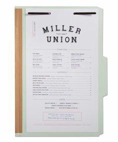 Brent Ellis' packaging and Identity for Miller Union #PortfolioCenter