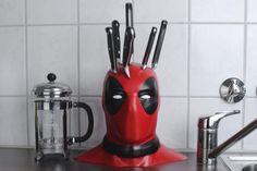 Deadpool knife block... Aka. Brilliant.