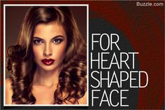 Heart-shaped face women should avoid blunt layers.