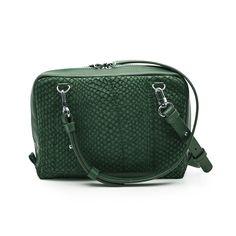 Green Lilli salmon leather shoulder bag clutch 3599 Leather Shoulder Bag, Salmon, Studio, Green, Bags, Handbags, Leather Shoulder Bags, Studios, Totes
