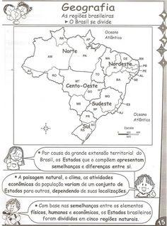 Cadastre-se e receba mu. Pet 5, Portuguese Lessons, Primary School, Social Studies, Professor, Geography, Homeschool, Places To Visit, Politics